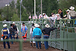 Rodeo action at the Smackdown at Fuji Park in Carson City, Nev., on Friday, June 5, 2015. <br /> Photo by Cathleen Allison/Nevada Photo Source