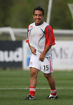 31 March 2007: Toronto's David Guzman.  The United Soccer League Division 1 Charleston Battery lost to Major League Soccer expansion team Toronto FC 3-0 in a preseason game at Blackbaud Stadium on Daniel Island in Charleston, SC, as part of the Carolina Challenge Cup.