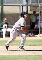 Jarrett Parker - San Francisco Giants - 2010 Instructional League.Photo by:  Bill Mitchell/Four Seam Images..