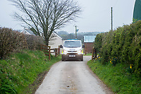 Tuesday 28 March 2017<br /> Pictured: Views of the  property in Carmarthenshire  <br /> Re: The mother of terrorist killer Khalid Masood is being guarded by police in case of reprisals over the Westminster attack by her estranged son.<br /> Police officers are stationed outside the home of Janet Ajao, 69, in the quiet country village of Trelech, Carmarthenshire, than 200 miles away from the scene of her son's terror attack.