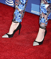 PALM SPRINGS, CA - JANUARY 03: Emma Stone, shoe detail, at the 30th Annual Palm Springs International Film Festival Film Awards Gala at Palm Springs Convention Center on January 3, 2019 in Palm Springs, California.<br /> CAP/ROT/TM<br /> &copy;TM/ROT/Capital Pictures