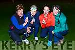 Katie O'Connell, Helen O'Donoghue, Sinead Galvin and Sarah Clinton who participated in the Killarney rotary club night golf in O'Mahonys Point on Friday
