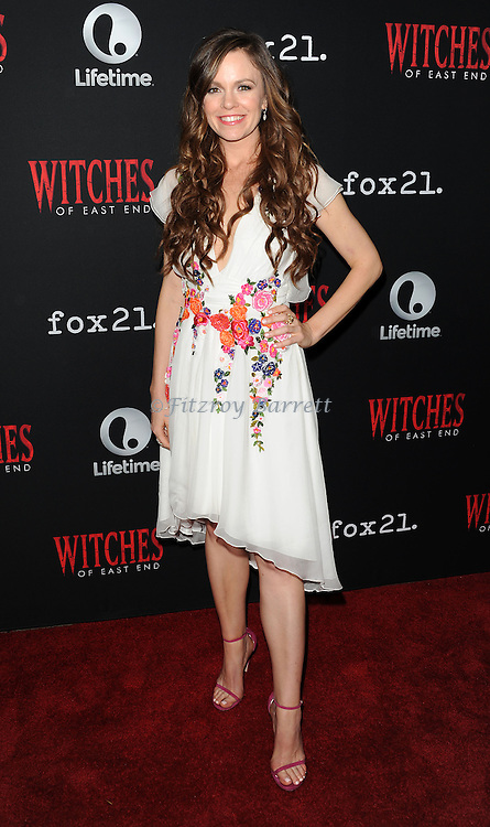 Rachel Boston arriving at the Witches of East End Comic-Con Party 2014 held at The Tipsy Crow in San Diego, Ca. July 24, 2014.