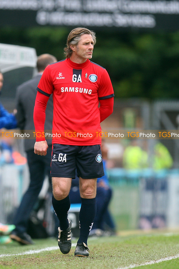 Wycombe Wanderers manager Gareth Ainsworth - Wycombe Wanderers vs Dagenham and Redbridge, Sky Bet League Two Football at the Adams Park Stadium - 05/04/14 - MANDATORY CREDIT: Dave Simpson/TGSPHOTO - Self billing applies where appropriate - 0845 094 6026 - contact@tgsphoto.co.uk - NO UNPAID USE
