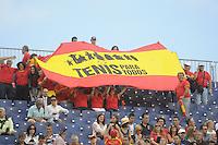 GIJÓN. 14 DE SEPTIEMBRE DE 2012. SEMIFINAL COPA DAVIS ENTRE ESPAÑA Y USA...FOTO: PEDRO PASCUAL / LOF