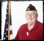Veteran  Jerry Bratton poses for a photo at a Veterans Day Program at the Oxford Conference Center in Oxford, Miss. on Thursday, November 11, 2010.