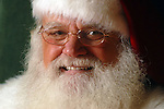 Ed Niederhofer working as Santa Claus at Memorial City Mall Wednesday Dec. 6,2006.(Dave Rossman/For the Chronicle)<br />