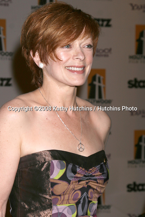 Frances Fisher  arriving to the Hollywood Film Festival Awards Gala at the Beverly Hilton Hotel in Beverly Hills, CA  on.October 27, 2008.©2008 Kathy Hutchins / Hutchins Photo...                .