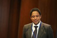 NOVA YORK, EUA, 11.04.2019 - POLITICA-EUA - Orlando Silva durante encontro com o Secretário-geral da ONU, António Guterres na sede das Nações Unidas em Nova York nesta quinta-feira, 11. (Foto: William Volcov/Brazil Photo Press)