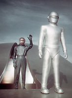 The Day the Earth Stood Still (1951) <br /> Michael Rennie<br /> *Filmstill - Editorial Use Only*<br /> CAP/KFS<br /> Image supplied by Capital Pictures