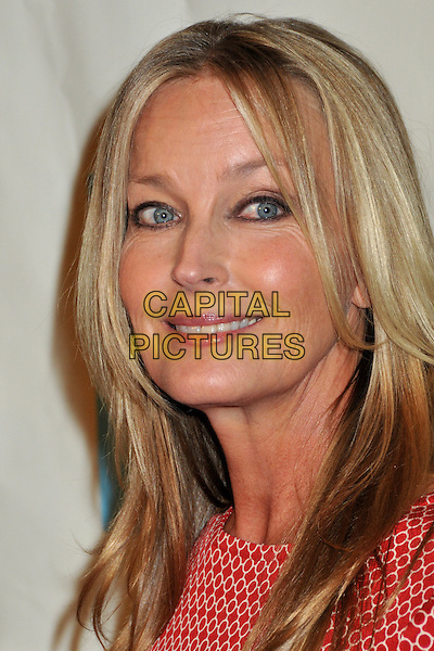 BO DEREK.37th Annual Peace Over Violence Humanitarian Awards at the Beverly Hills Hotel, Beverly Hills, California, USA, 07 November 2008..portrait headshot red striped and white print.CAP/ADM/BP.©Byron Purvis/Admedia/Capital PIctures