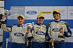 Race 3 Duratec Class Podium - British Formula Ford Silverstone 2012