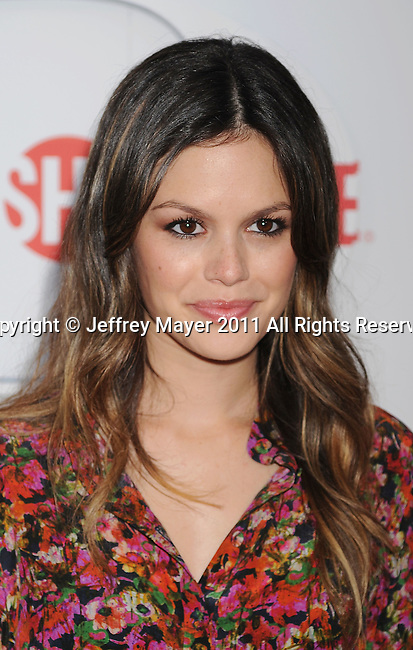 BEVERLY HILLS, CA - AUGUST 03: Rachel Bilson arrives at the TCA Party for CBS, The CW and Showtime held at The Pagoda on August 3, 2011 in Beverly Hills, California.