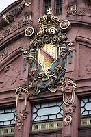 Europe/Allemagne/Bade-Würrtemberg/Heidelberg: Bibliothéque de l'Université Jugendstil