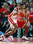 University of Wisconsin guard (32) Roy Boone during the Indiana University game at the Kohl Center on 1/4/01 in Madison, WI.  The Badgers beat Indiana in the Big Ten opener 49-46. (Photo by David Stluka)