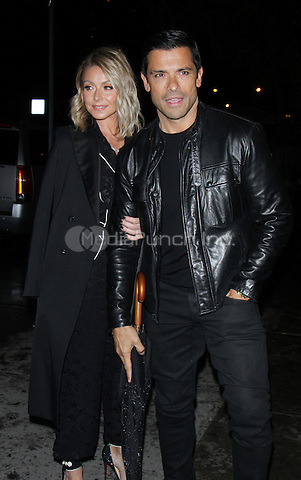 NEW YORK, NY December 06:Kelly Ripa, Mark Consuelos at Gravitas Ventures present a screening of  All We Had at the Landmark Sunshine Cinema in New York .December 06, 2016. Credit:RW/MediaPunch