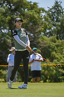 Sung Hyun Park (KOR) watches her tee shot on 3 during round 2 of  the Volunteers of America LPGA Texas Classic, at the Old American Golf Club in The Colony, Texas, USA. 5/6/2018.<br /> Picture: Golffile | Ken Murray<br /> <br /> <br /> All photo usage must carry mandatory copyright credit (&copy; Golffile | Ken Murray)