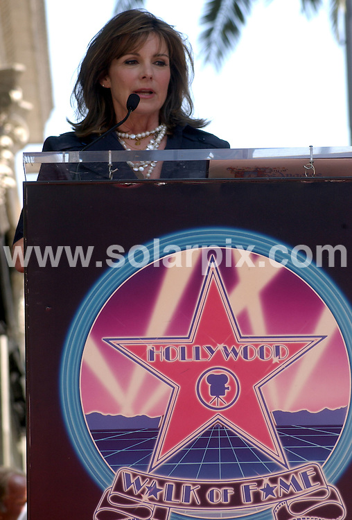 **ALL ROUND PICTURES FROM SOLARPIX.COM**.**SYNDICATION RIGHTS FOR UK, SPAIN, PORTUGAL, AUSTRALIA, S.AFRICA & DUBAI (U.A.E) ONLY**.The Hollywood actress Susan Saint James Honoured With A Star On The Hollywood Walk OF Fame on 1645 Vine Street in Hollywood California in the USA. .This pic:Susan Saint James.JOB REF:6622-PHZ/Albert.L.Ortega    DATE:11_06_08 .**MUST CREDIT SOLARPIX.COM OR DOUBLE FEE WILL BE CHARGED* *UNDER NO CIRCUMSTANCES IS THIS IMAGE TO BE REPRODUCED FOR ANY ONLINE EDITION WITHOUT PRIOR PERMISSION*
