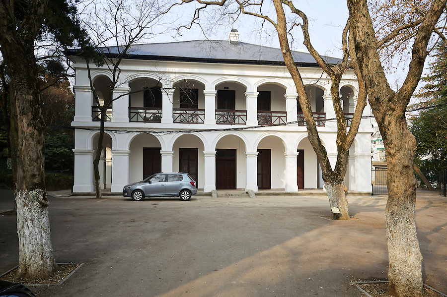 Deputy Commissioner's Residence (South Elevation), Wuhu.