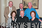 Fr. John Kennelly, from Ballylongford seated centre celebrated his retirement as parish priest of Causeway with his extended family in the Listowel Arms Hotel on Friday night...