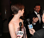 Hugh Jackman & Anne Hathaway attending The Museum of Moving Image salutes Hugh Jackman at Cipriani Wall Street in New York on December 11, 2012