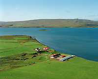 Tannstaðabakki séð til suðvesturs, Húnaþing vestra áður Staðarhreppur/ Tannstadabakki viewimng southwest, Hunathing vestra former Stadarhreppur.