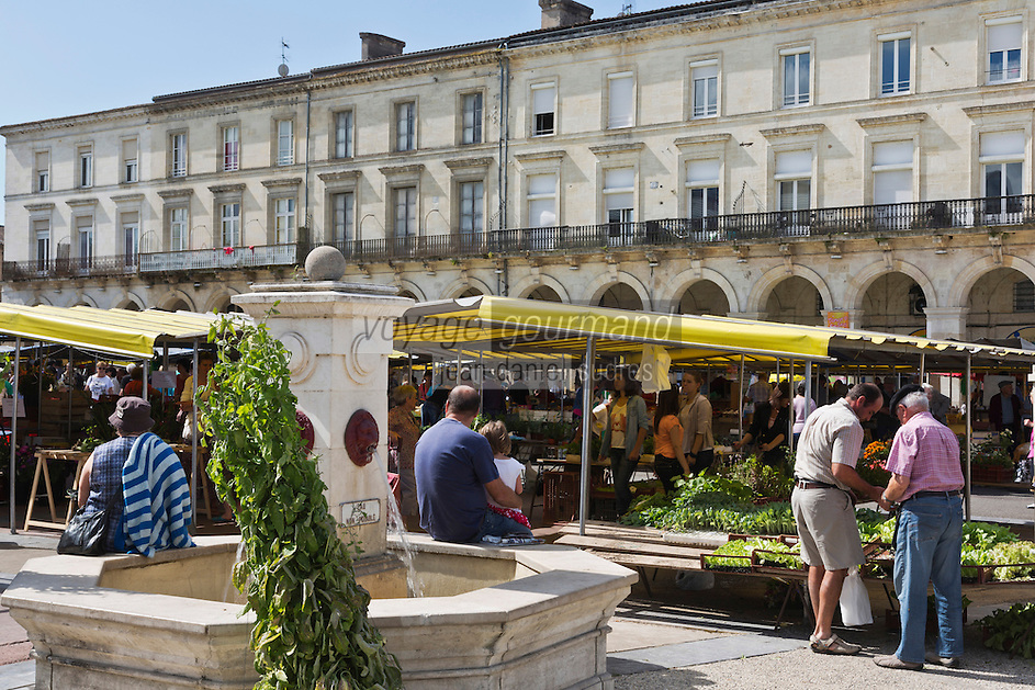Europe/France/Aquitaine/47/Lot-et-Garonne/Marmande: Place du Marché