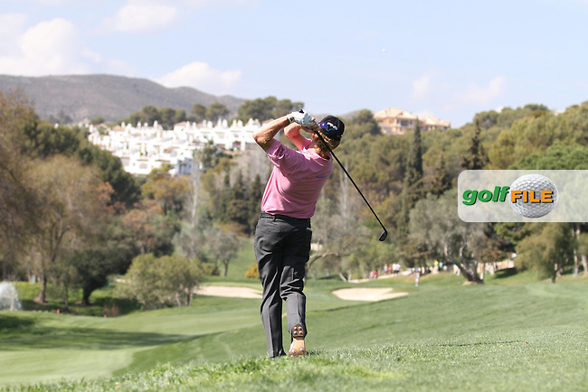 Miguel Angel Jimenez (ESP) on the 10th on Day 3 of the 2012 Open de Andalucia Costa del Sol at Aloha Golf Club, Marbella, Spain...(Photo Jenny Matthews/www.golffile.ie)