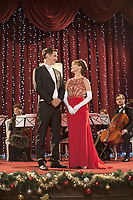 A Royal Christmas (2014)<br /> Promo shot of Jane Seymour &amp; Stephen Hagan<br /> *Filmstill - Editorial Use Only*<br /> CAP/KFS<br /> Image supplied by Capital Pictures