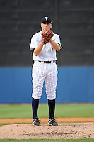 Staten Island Yankees pitcher Dietrich Enns (21) during game against the Hudson Valley Renegades at Richmond County Bank Ballpark at St.George on June 24, 2012 in Staten Island, NY.  Staten Island defeated Hudson Valley 9-1.  Tomasso DeRosa/Four Seam Images