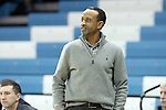 02 January 2014: JMU head coach Kenny Brooks. The University of North Carolina Tar Heels played the James Madison University Dukes in an NCAA Division I women's basketball game at Carmichael Arena in Chapel Hill, North Carolina.