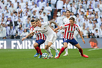 Real Madrid´s  Toni roos and Atletico de Madrid´s Marcos Llorente during La Liga match. February 1, 2020. <br /> (ALTERPHOTOS/David Jar)<br /> 01/02/2020 <br /> Liga Spagna 2019/2020 <br /> Real Madrid - Atletico Madrid  <br /> Foto Alterphotos / Insidefoto <br /> ITALY ONLY