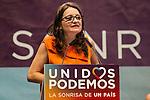 Spanish politician Monica Oltra during the closing of the electoral campaign of Unidos Podemos. 24,06,2016. (ALTERPHOTOS/Rodrigo Jimenez)