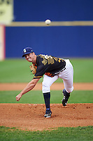 Wilmington Blue Rocks starting pitcher Foster Griffin (39) during a game against the Lynchburg Hillcats on June 3, 2016 at Judy Johnson Field at Daniel S. Frawley Stadium in Wilmington, Delaware.  Lynchburg defeated Wilmington 16-11 in ten innings.  (Mike Janes/Four Seam Images)
