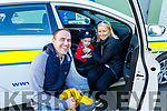 Aidan Mc Carthy with his mom and dad  Brian and Jeanette McCarthy (Listowel) enjoying the fun provided by An Garda Siochana at the Little Heros Fun day event by Recovery Haven in the John Mitchels Complex on Sunday.