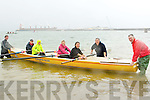 ROWING: In conjuction with Tralee Sailing Club, Fenit the club held a fund day for in rowing at Fenit on Sunday taking to the water were, Liam Doyle (instructor), Aine O'arroll, Grace Sheehy, Mona O'Halloran, paula Moloney Mary Teahan and Brian O'Sullivan (instructor).
