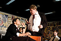 THe History Boys by Alan Bennett ,directed by Nicholas Hytner.With Dominic Cooper,James Corden.Opens at the Lyttleton Theatre on 18/5/04 CREDIT Geraint Lewis
