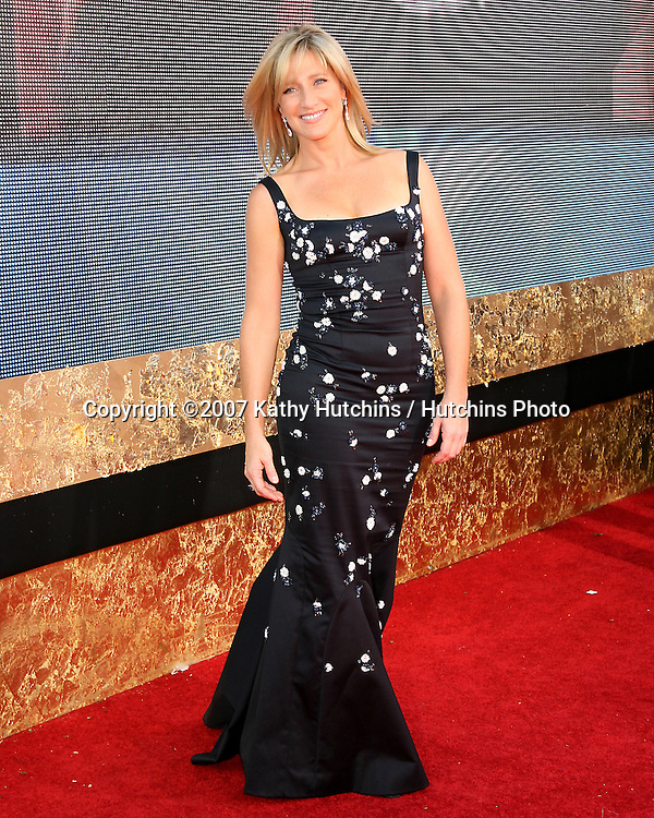 Edie Falco.Emmy Awards 2007 - Arrivals.Shrine Auditorium.Los Angeles,  CA.September 16, 2007.©2007 Kathy Hutchins / Hutchins Photo...               .
