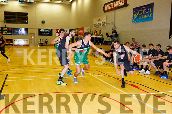 Dan Grissfin Scotts Lakers takes on Krystian Burchardt Limerick Celtics in Killarney Saturday night