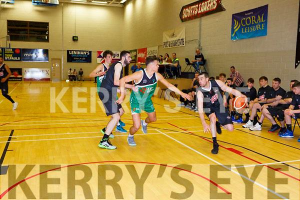 Dan Grissfin Scotts Lakers takes on Krystian Burchardt Limerick Celtics in Killarney Saturday night