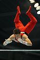 Payne Jackson (CAN), July 2, 2011 - Artistic Gymnastics : Payne Jackson performs on the Parallel bars during the Japan Cup 2011 at Tokyo Metropolitan Gymnasium, Tokyo, Japan. (Photo by Yusuke Nakanishi/AFLO SPORT) [1090]