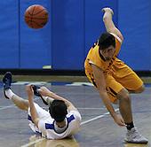 Walled Lake Central at Walled Lake Western, Boys Varsity Basketball, 2/24/17
