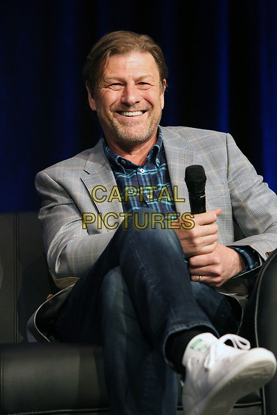 PHILADELPHIA, PA - MAY 19:  Sean Bean speaking at a panel at Wizard World in the Convention Center in  Philadelphia, Pa on May 19 2018  <br /> CAP/MPI/STA<br /> &copy;STA/MPI/Capital Pictures