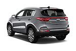 Car pictures of rear three quarter view of 2018 KIA Sportage EX 5 Door SUV Angular Rear
