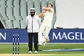 3rd December 2017, Adelaide Oval, Adelaide, Australia; The Ashes Series, Second Test, Day 2, Australia versus England; Chris Woakes runs in to bowl