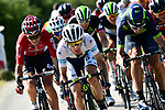 The peloton including White Jersey Simon Yates (GBR) Orica-Scott in action during Stage 16 of the 104th edition of the Tour de France 2017, running 165km from Le Puy-en-Velay to Romans-sur-Isere, France. 18th July 2017.<br /> Picture: ASO/Alex Broadway | Cyclefile<br /> <br /> <br /> All photos usage must carry mandatory copyright credit (&copy; Cyclefile | ASO/Alex Broadway)
