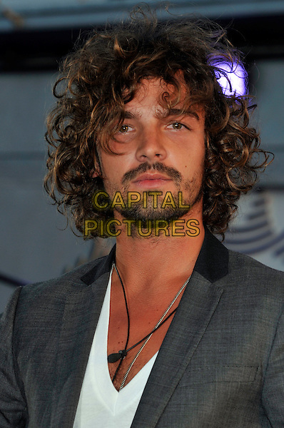 KRIS DONNELLY.Big Brother Series 10 Launch Night at Elstree Studios, Borehamwood, Herts, England. .June 4th 2009.BB10 headshot portrait new housemates housemate beard facial hair white grey gray chris.CAP/PL.©Phil Loftus/Capital Pictures.