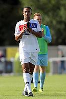 Kevin Lokko of Dagenham after Eastleigh vs Dagenham & Redbridge, Vanarama National League Football at the Silverlake Stadium on 12th August 2017
