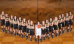 November 20, 2013- Tuscola, IL- The 2013-2014 Warrior Girls Basketball team. From left are Taylor Bosch, Lexi Sluder, Logan Hale, Abbey Walsh, Tori Wasiloski, Maria Meyer, Ashley Bartley, Morgan Little, Macie Edwards, Kara O'Hearn, Anna Watson, Grace Hardwick, Brooke Hennis, Anna Kauffman, Emma Henderson, Halle McCrory, and Madeline Meinhold. [Photo: Douglas Cottle]