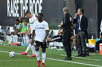 30th July 2020; Craven Cottage, London, England; English Championship Football Playoff Semi Final Second Leg, Fulham versus Cardiff City; Fulham Manager Scott Parker